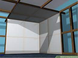 How To Hang Drywall On Ceiling By Yourself by How To Hang Sheetrock With Pictures Wikihow