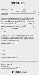 free quit claim deed free quit claim deed form