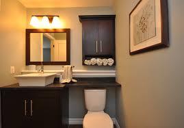 bathroom modern l mission linen cabinet finished bathroom linen