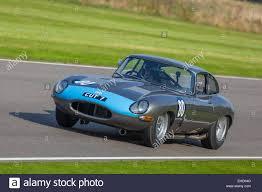 1961 jaguar e type fhc cut7 during the rac tt celebration race