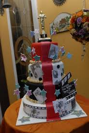wedding food with old hollywood theme hollywood themed cake