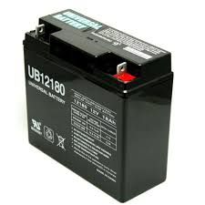 universal 12 v 18 amp hour battery