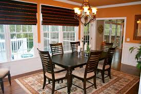 casual dining room curtains
