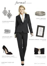 women u0027s tuxedo for a wedding or black tie event dress for the