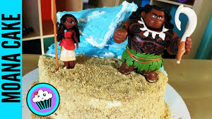 how to make disney moana cake pinch of luck youtube