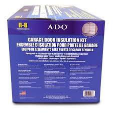 ado products gdiks single garage door insulation kit garage