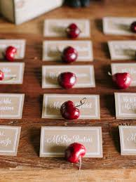 10 escort cards you can eat or drink