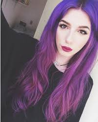 flesh color hair trend 2015 top 20 choices to dye your hair purple ombre hair color red