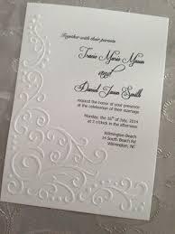 best 25 embossed wedding invitations ideas on
