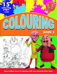 motu patlu colouring book 2 english buy motu patlu colouring