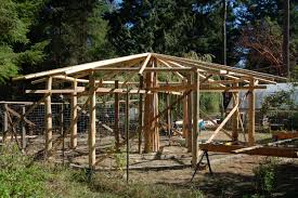 seeking ideas for a roof on an octagonal roundwood framed