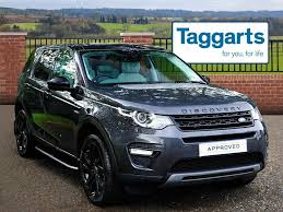 black land rover discovery land rover discovery sport td4 hse black grey 2016 09 21 in