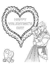valentines color page frozen valentines day coloring page h u0026 m coloring pages