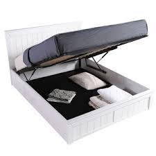 White Wooden Ottoman Bed Ottoman King Size Beds Mattresses U0026 Bases Bedstar