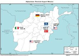 Bagram Air Base Map Resolute Support