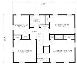 ranch home floor plan simple floor plans for homes plans furthermore x house floor plans