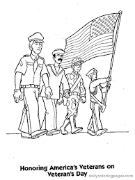 veterans coloring pages kids printable iwo jima picture