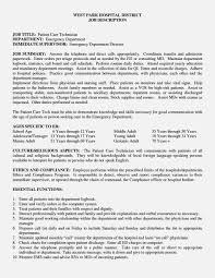 Technical Resume Objective Patient Care Technician Sample Resume Resume Cv Cover Letter