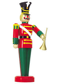 Large Outdoor Christmas Decorations by Amazon Com Large Life Size Toy Soldier With Trumpet Outdoor