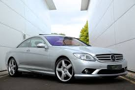 mercedes cl55 amg used bright silver met mercedes cl55 amg for sale south glamorgan