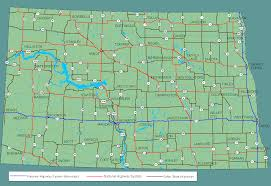 United States Highway Map by Dakota Highways Map