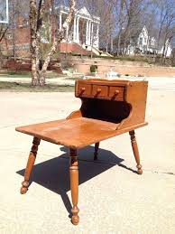 ethan allen coffee table and end tables ethan allen end tables heirloom maple nutmeg step end table within