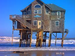 Beach House Inn Carolina Beach The Wave Breaker At Mirlo Beach In Rodanthe Nc Sits Alone Now