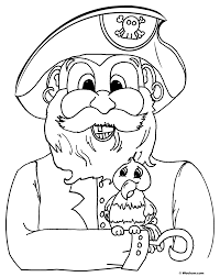 pirate themed coloring pages eson me