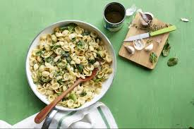best orecchiette with white beans and spinach recipe pasta