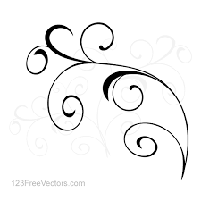 vector simple floral ornament background by 123freevectors on