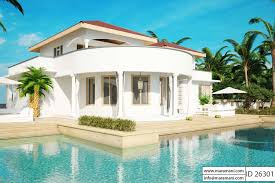 2 stories house story house with pool id 26301 house plans by maramani