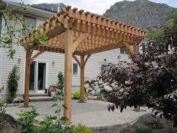 timber frame pergola kit western timber frame