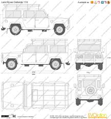 land rover drawing land rover defender clipart 41