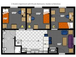 3 bedroom floor plan floor plans office of residence of wisconsin