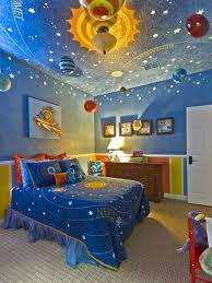 bed ideas contemporary kids room painting ideas blue color scheme