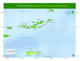 Map Of Virgin Islands Impressum