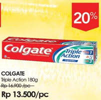 Pasta Gigi Colgate promo harga colgate pasta gigi terbaru minggu ini hemat id