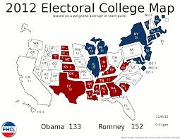 2012 Presidential Election Map by Frontloading Hq 2012 Election Night Live Blog