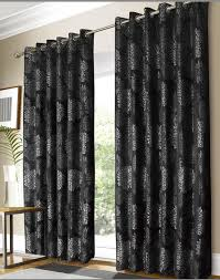 Silver Black Curtains Black And Silver Curtains Images Black And Silver Curtains