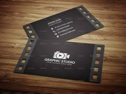 Business Card Template Jpg Filmography Business Card Template By Kazierfan Graphicriver