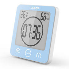 Bathroom Radio Clock Shower Clock Ebay