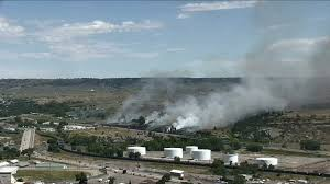 Wildfires Near Montana by Grass Fire That Scorched 20 Acres Near Lockwood Is Contained