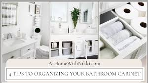 how to organize the sink cabinet 4 ways to organize the bathroom sink cabinet home organizing tips