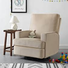 Dorel Rocking Chair Slipcover Dorel Living Baby Relax Addison Swivel Gliding Recliner Beige