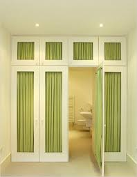 Fabric Closet Door Trade A Few Of Your Interior Doors For Some With Decorative