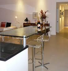 kitchen breakfast bar ideas amazing contemporary kitchen glass breakfast bar my home design