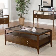interior comfy mahogany unstained square coffee table ideas with