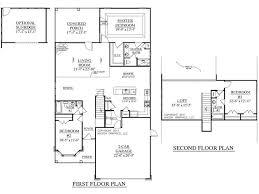 house plan 2219 dawson floor plan traditional 1 1 2 story house
