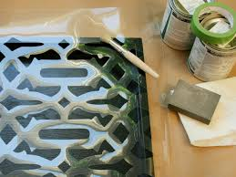 how to stencil a tray hgtv