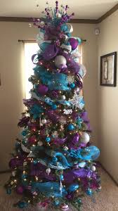 purple christmas tree pink and purple christmas tree design decoration